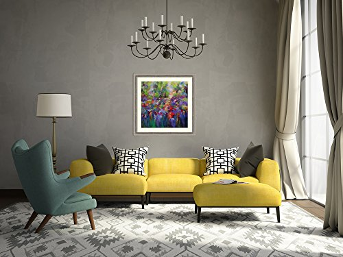 framed art print 39 among the wildflowers 39 by anne kindl e